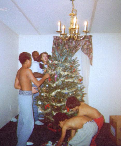 Christmas fun 2001